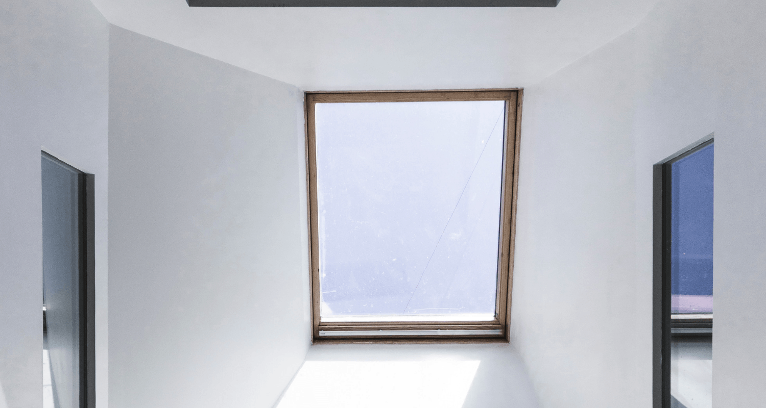A skylight that is increasing home value.