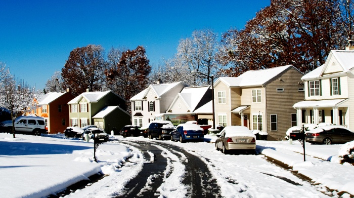 Neighborhood full of houses that must disclose items when selling.