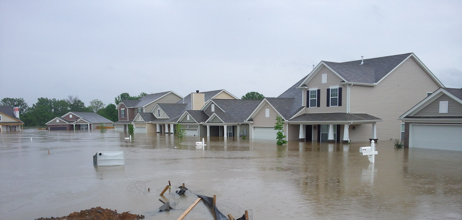 Homes with water damage in the process of selling.