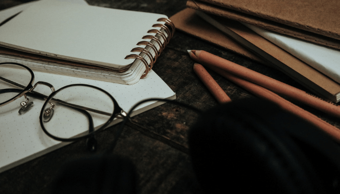 Pencils used to fill in a seller financing contract.