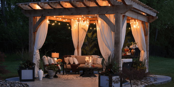 how to stage the outside of your condo