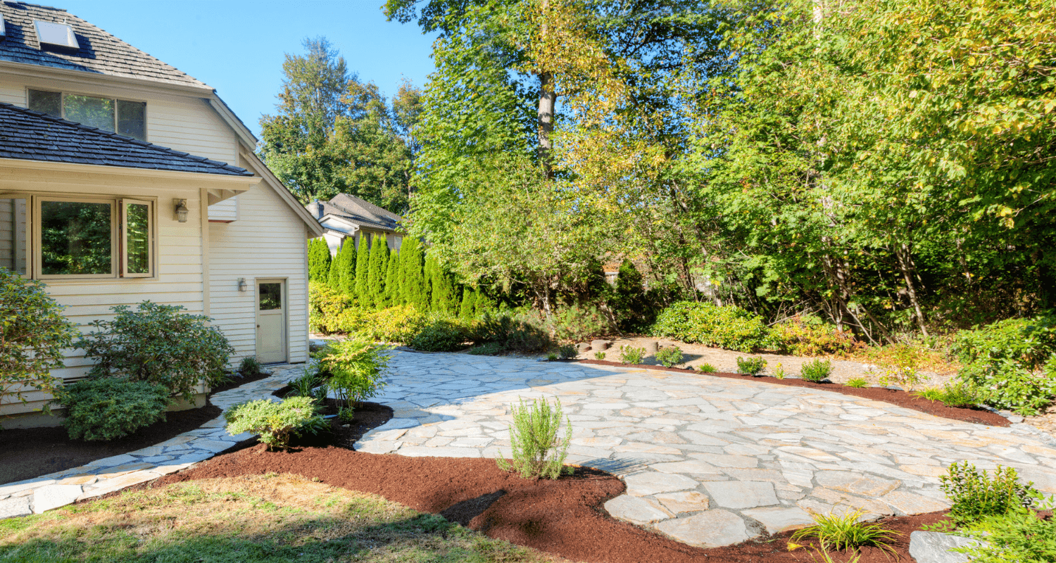 Pavers that increased home value.