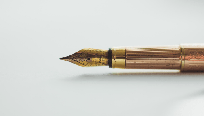 A pen used to sell a parents home after death.
