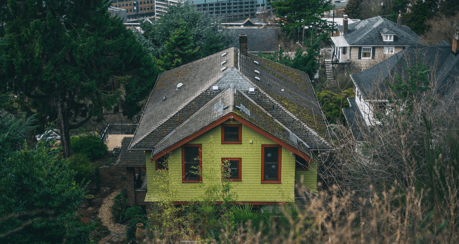A house that needs repairs after buying.