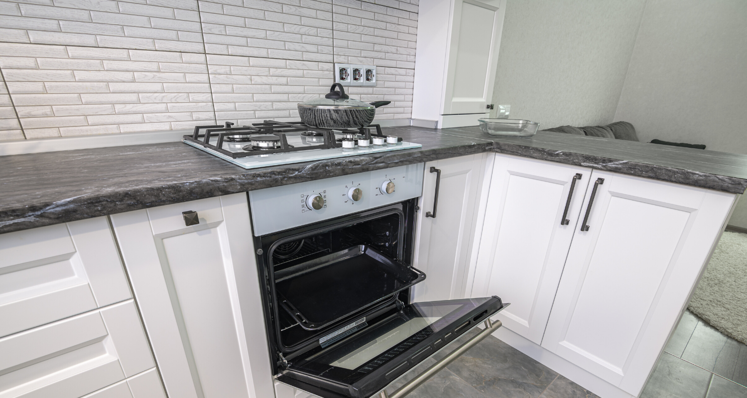 A gas range that adds value to a home.