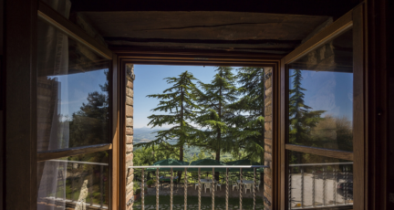The gorgeous view on the balcony of a home you could get an appraisal for.