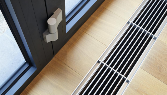 A vent in a home with central air and added value.