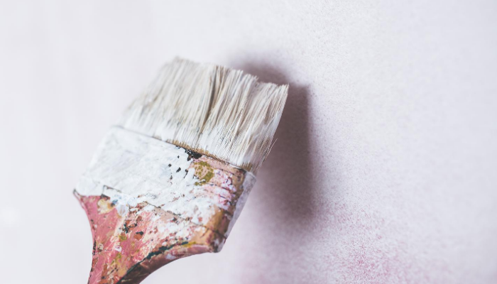 A paintbrush used to increase property value.