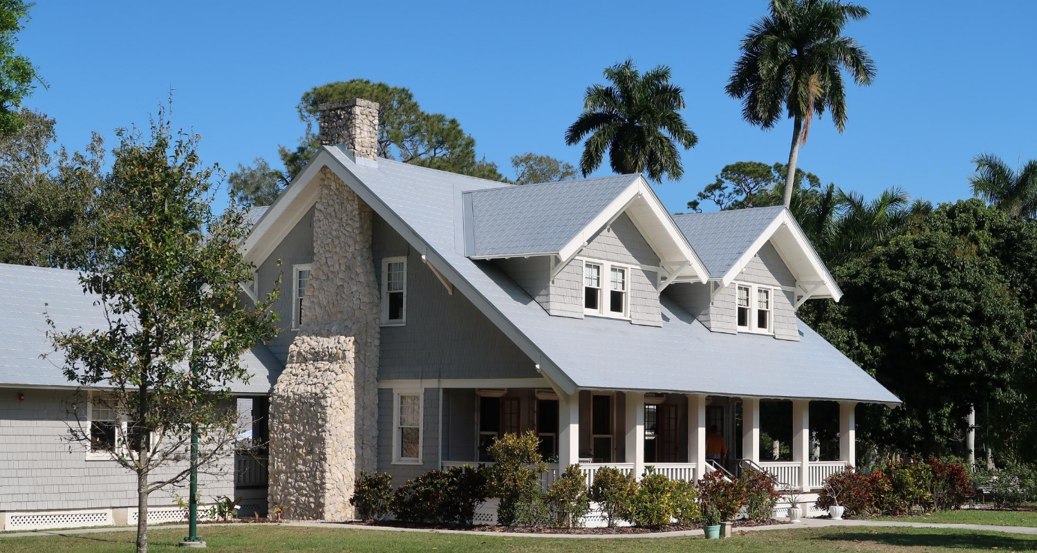 A photo of a house illustrates the topic of buying a bank owned home.