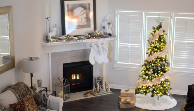 Christmastime use only doesn't help adding a fireplace to increase home value