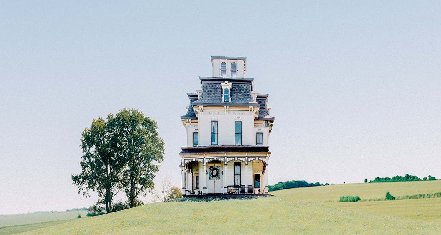 A Victorian house that needs home improvements before resale.