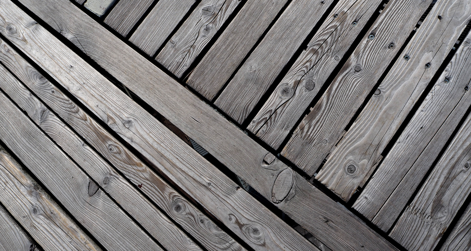 Decking, which you will need to know how to power wash.