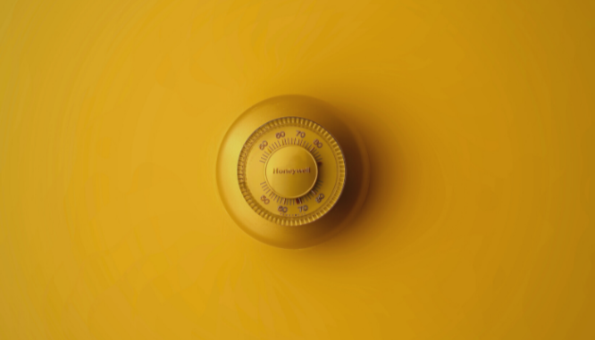 A home thermostat, which is a utility that shouldn't be shut off before closing.