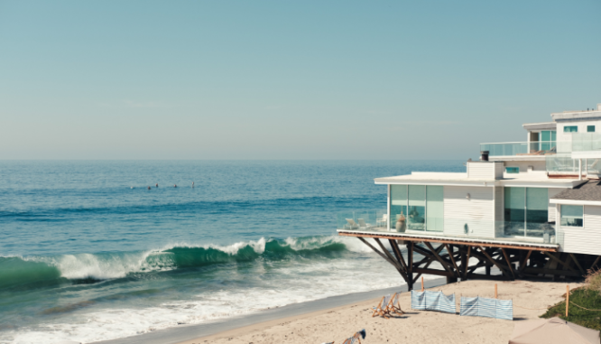 A beach house used an offset when a partner refuses to sell.