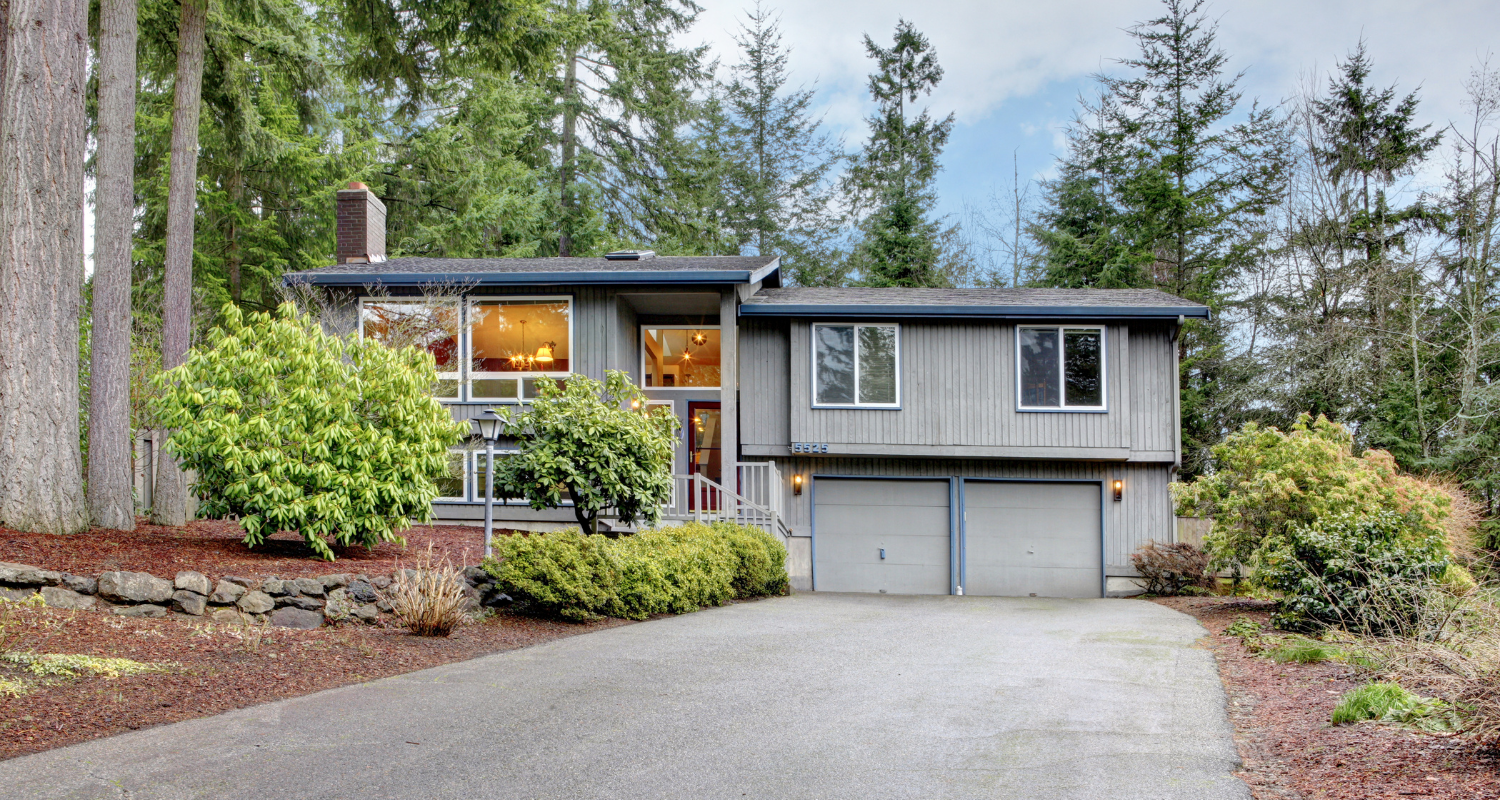 A split-level home that will be harder to sell.